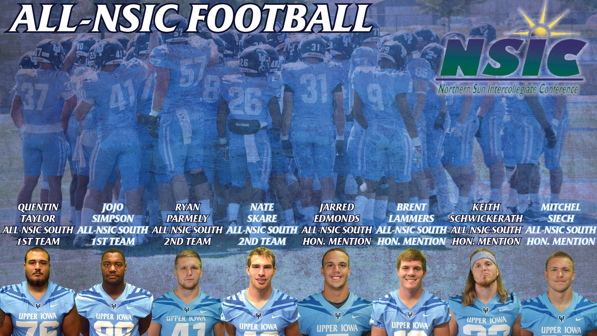 Eight Peacocks Named To All Nsic Football Squad Upper Iowa